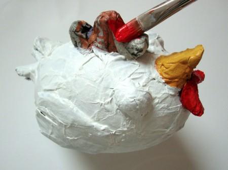Velikonočna kokoška - www.brezideje.si - ustvarjalnice 11