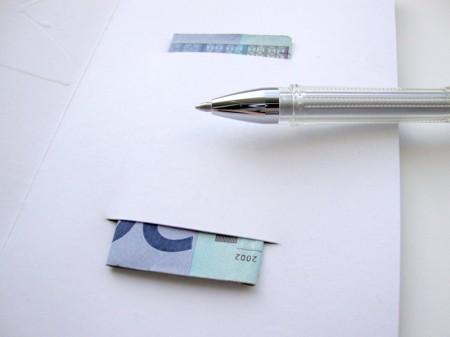 Kako podariti denar  - www.brezideje.si - ustvarjalnice - 1a