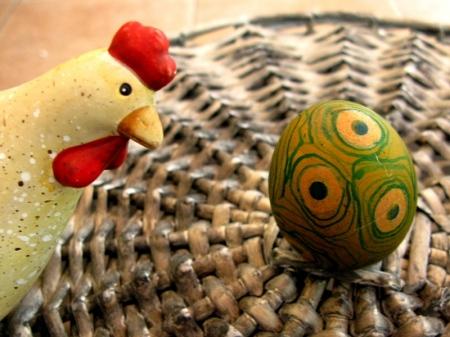pirh in kokoška