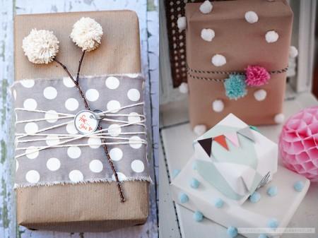 Zavijanje novoletnih daril 2