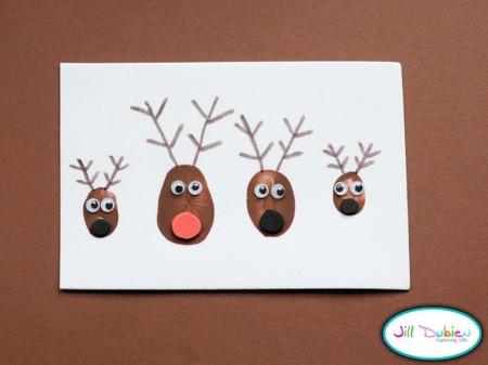 Novoletna voščilnica - Rudolf