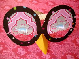 Sovina pustna očala