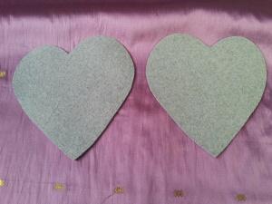 Srčki za Valentinovo - dva srčka