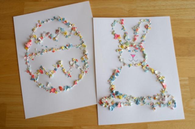 Umetnine iz jajcne lupine - 5