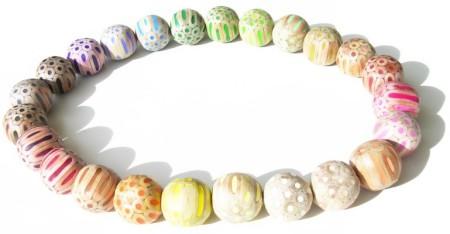 Ogrlica iz barvic 13